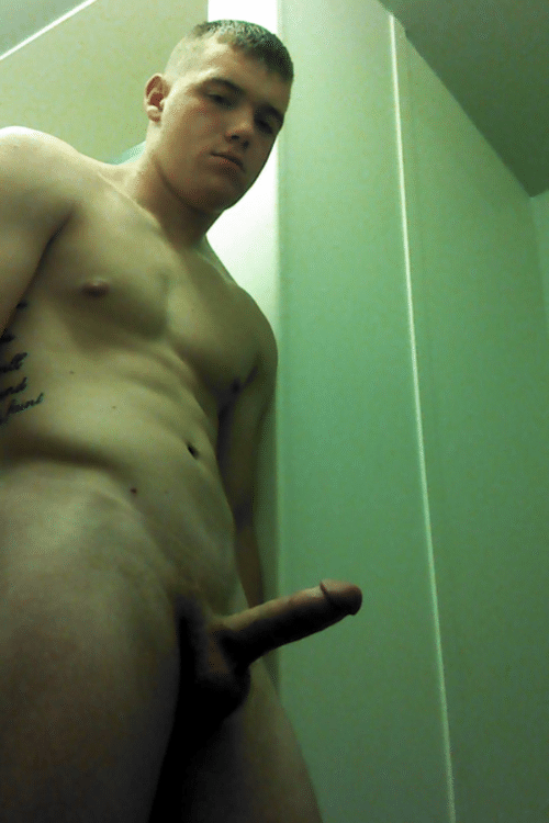 Sexy Hunky Boy With A Stiff Dick