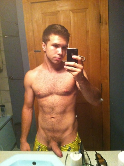 Cute Muscular Boy Bear With A Perfect Cock